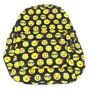 Emoji School Bag for Kids - Holds Laptop